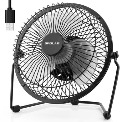 OPOLAR USB Desk Fan 6 Inch