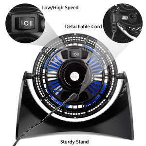 OPOLAR Portable USB Desk Fan