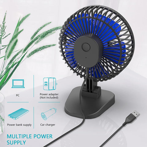 OPOLAR New Mini USB Desk Fan