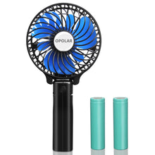Load image into Gallery viewer, OPOLAR Small Handheld Battery Operated Travel Fan