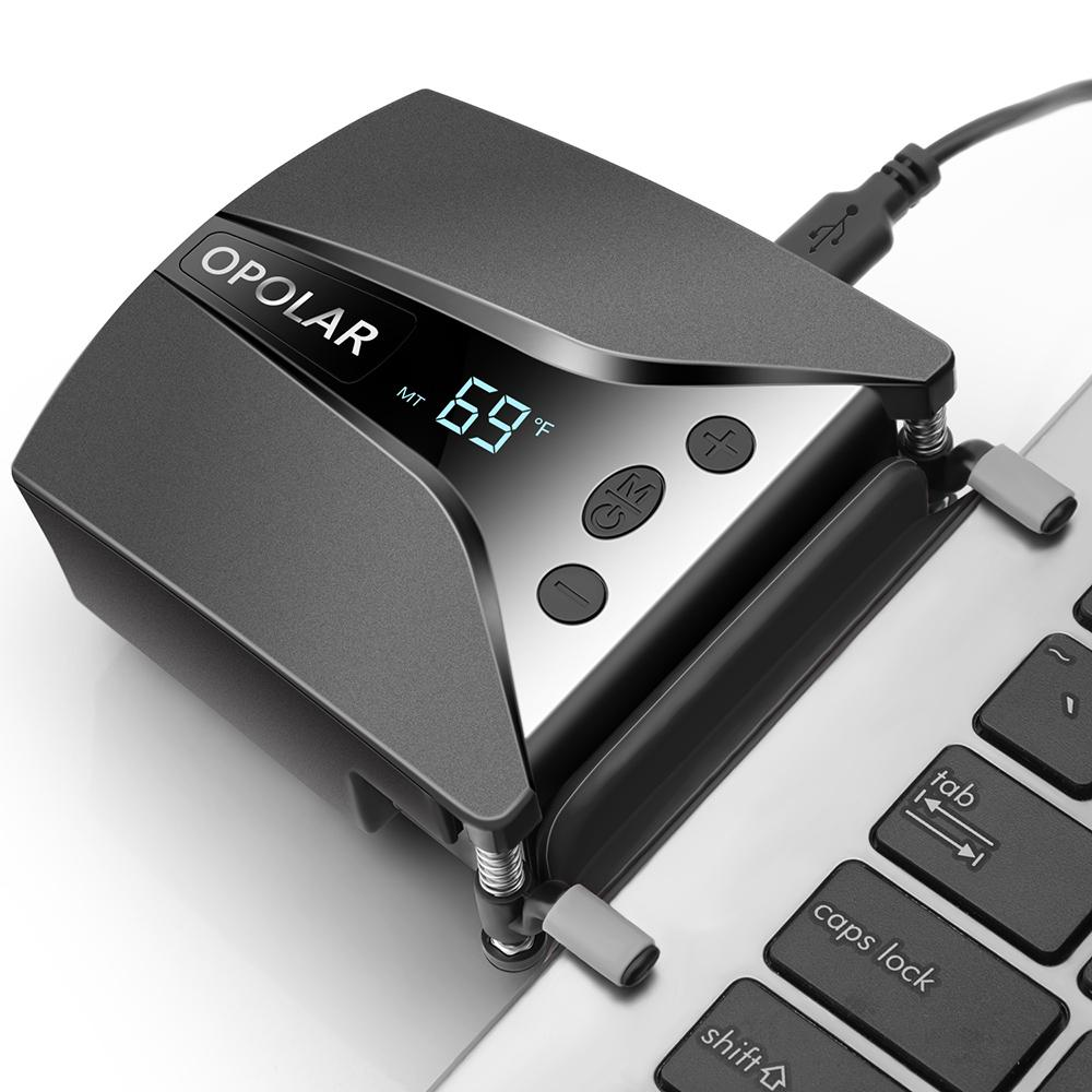 OPOLAR Laptop Cooler with Temperature Display