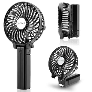 OPOLAR Mini Handheld Battery Operated Personal Fan