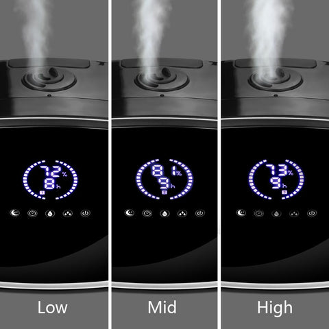 Digital 3L/0.8 Gallon Humidity Control Humidifier