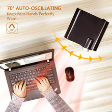Load image into Gallery viewer, OPOLAR 1500W Indoor Electric Mini Desk Personal Heater