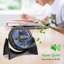 Load image into Gallery viewer, OPOLAR Portable USB Desk Fan