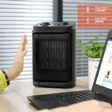 Load image into Gallery viewer, OPOLAR 800/1500 Watts Portable Electric Heater