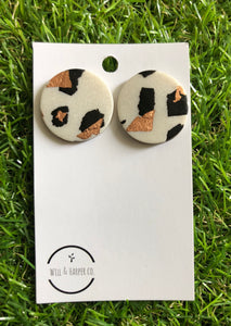 GLAM COW - XL studs