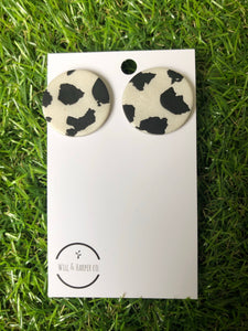 MILLY MOO- large studs