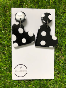 SPOTTY LOTTIE- Black gloss
