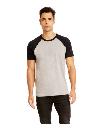 Next Level N3650 Unisex Raglan Short-Sleeve T-Shirt