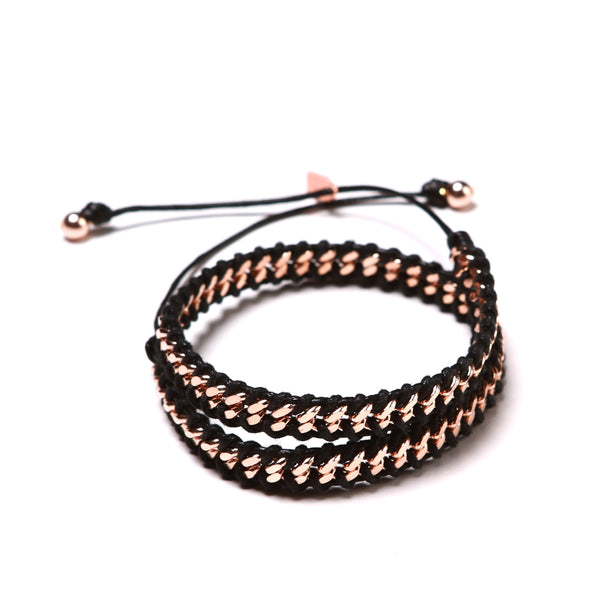 MINI ROSE GOLD LINK 2X