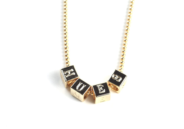 CUSTOMIZE YOUR OWN WORD NECKLACE