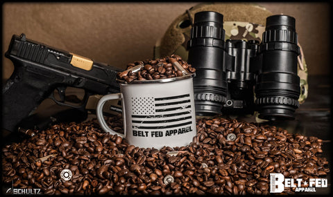 Belt Fed Flag Mug