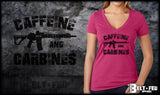 Caffeine and Carbines V-Neck
