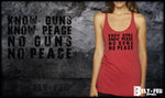 No Guns - No Peace Triblend