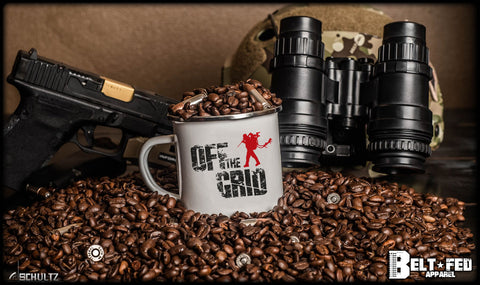 Off The Grid Logo Mug