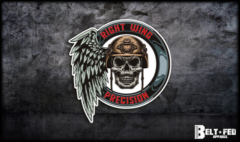 Right Wing Precision Sticker