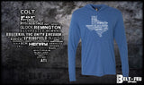 Texas Weapons Hooded Pullover