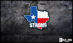 Texas Strong Sticker