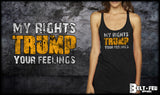 Trump Feelings Ladies Tank