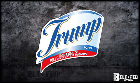 Trump Lysol Sticker