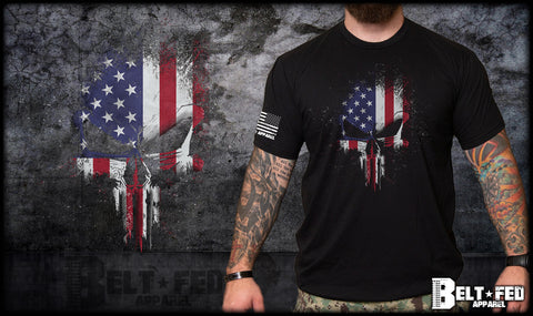 USA Punisher Skull