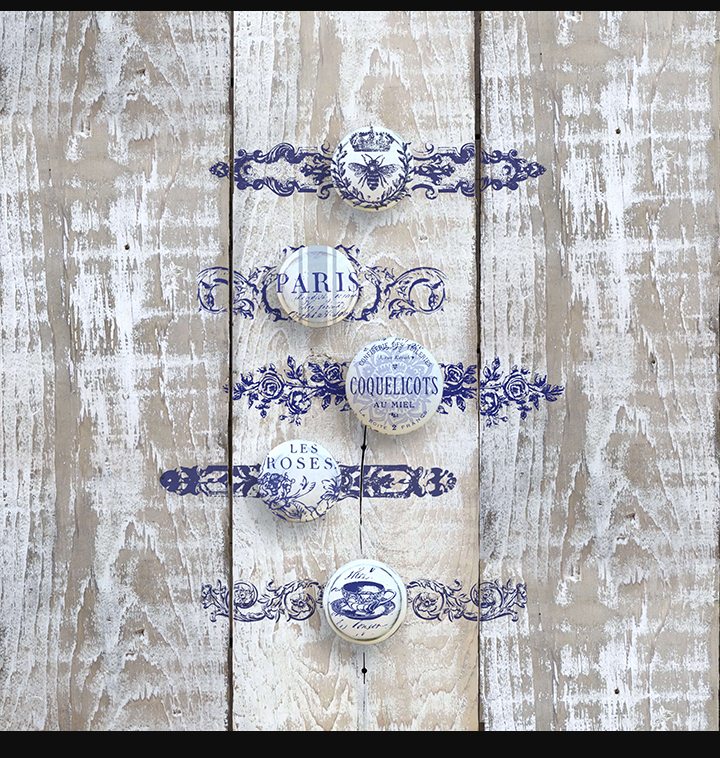 Knob BackPlate Decor Stamp