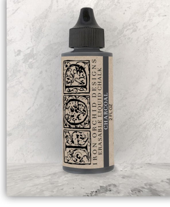 Erasable Liquid Chalk (charcoal)