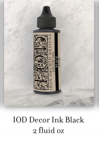 Black Decor Ink