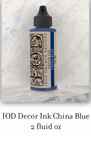 China Blue Decor Ink