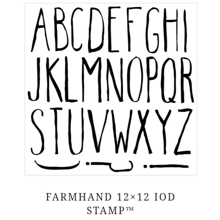 Farmhand Decor Stamps