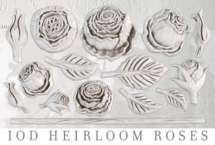 Heirloom Rose Mould