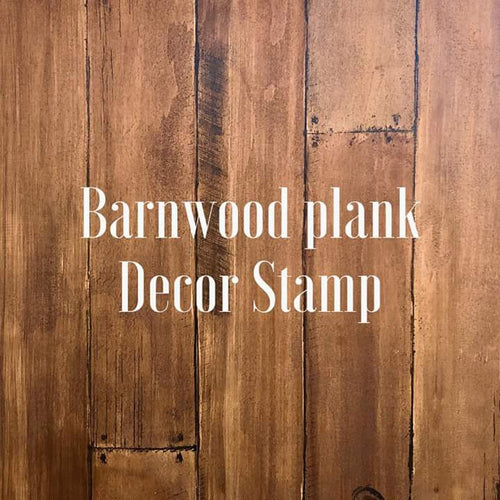 Barn Wood Planks 12x12 Decor Stamp (2 sheets)