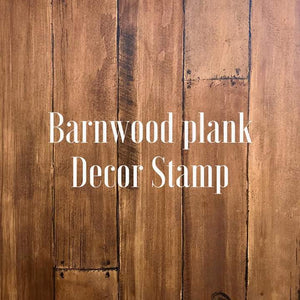 Barn Wood Planks 12x12 Decor Stamp