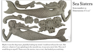 Sea Sisters Mould (mermaid)