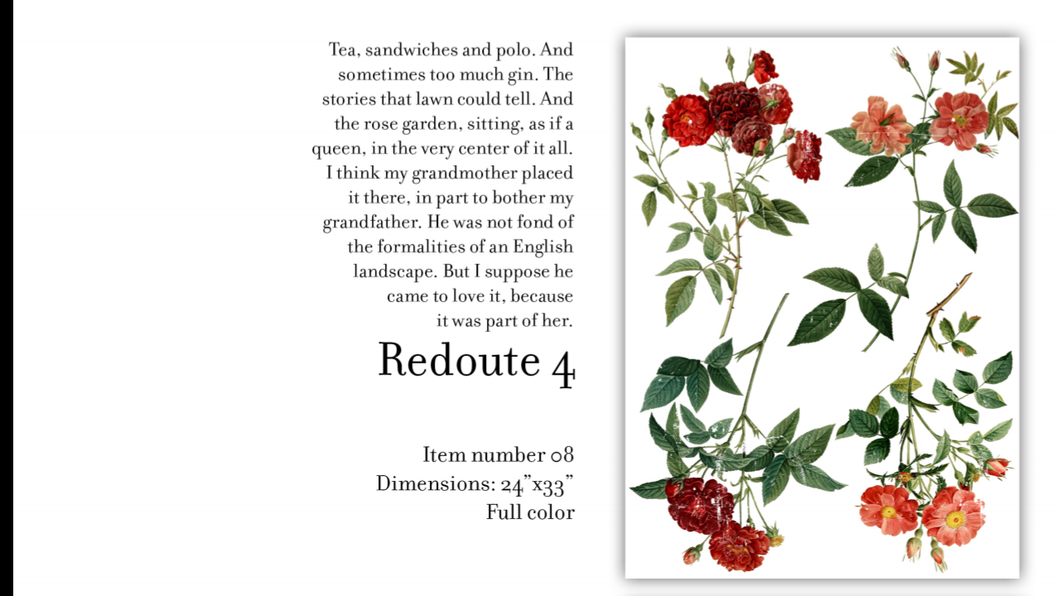 Redoute 4 Decor Transfer