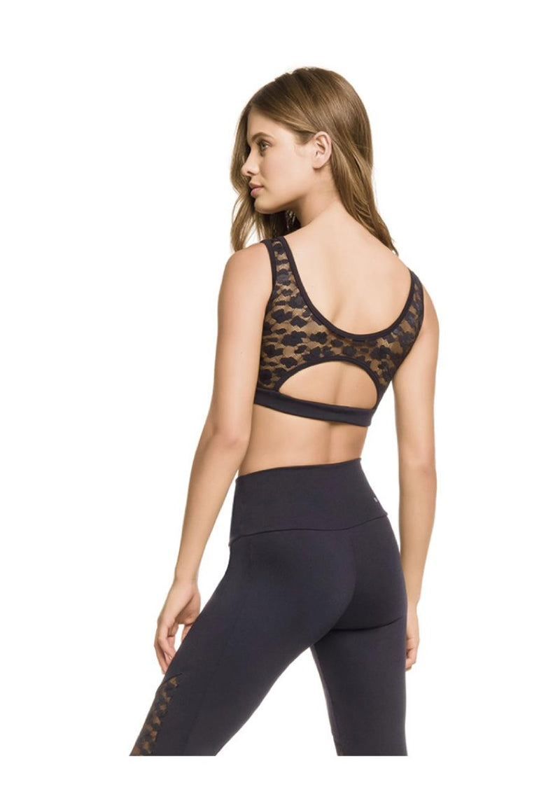 F-14061 Sport Bra With Lace