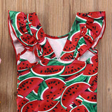The Red Watermelon Swimsuit