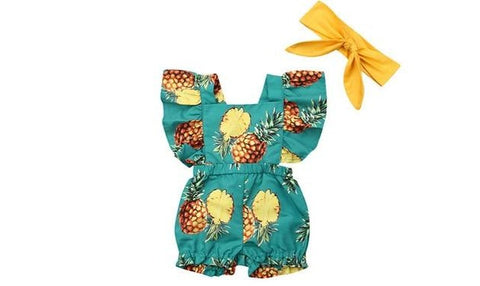 The Cutie Girl Romper, Color - 31450