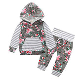 The Floral Stripe Hoodie (Revenue4moms Eligible Product)
