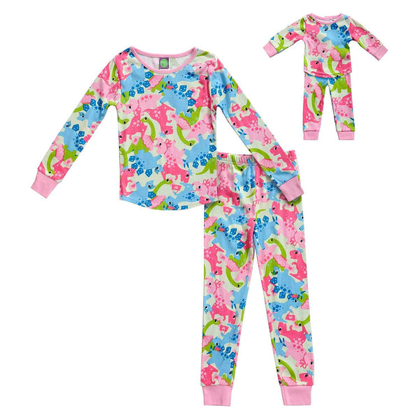 The Mommy and Me Pajama, Color - Multicolor