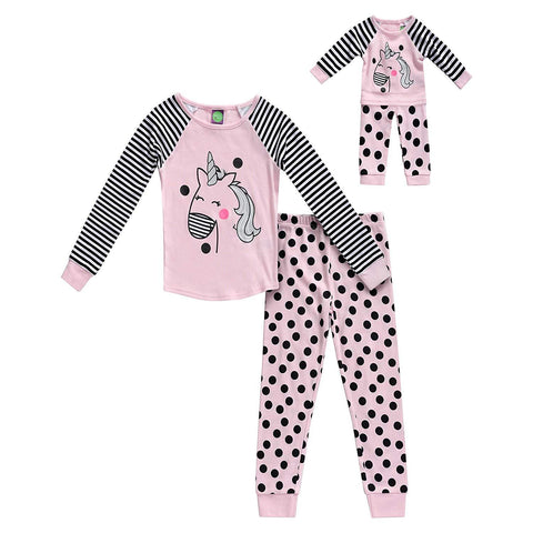 The Mommy and Me Pajama, Color - Pink
