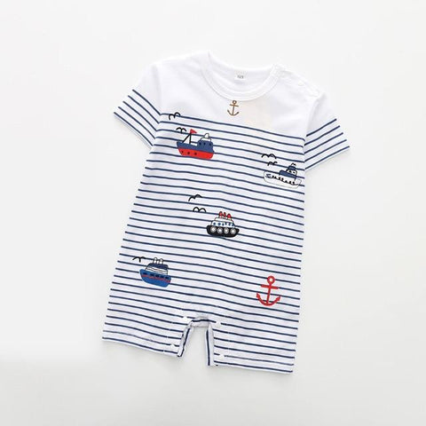 The Buddy Romper, Color - boat