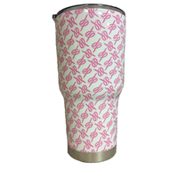 ProductPro Pink Ribbons Tumbler Warehouse Tumbler Product 30 oz