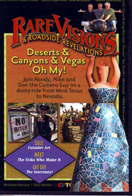Deserts & Canyons & Vegas, Oh My! DVD