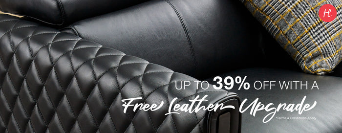Sofa, So Good | Leather Upgrade Up to 39% off!