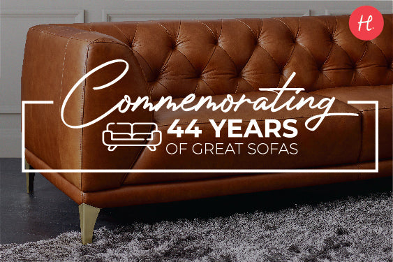 Commemorating 44 years of Great Sofas!