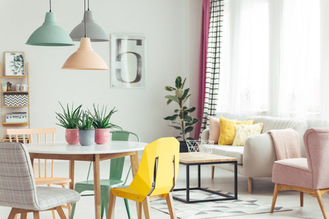 Mismatched Chairs ideas for dining table decor