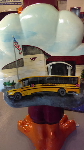 Class of 81 Hokie Bus Man