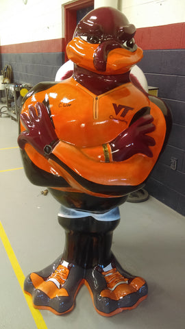 Fitness Hokie Bird